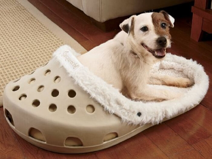 Giant Slipper-Shaped Pet Bed