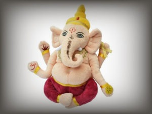 Plush Ganesh Soft Teddy