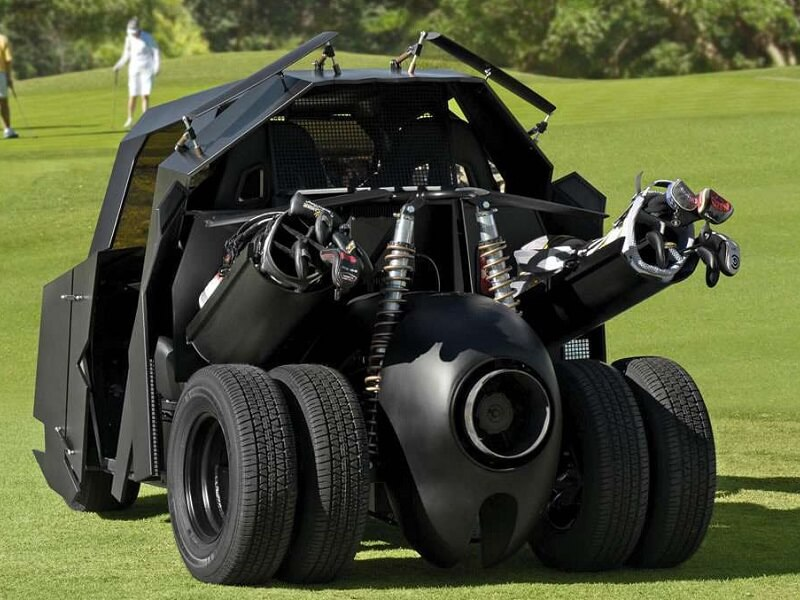 Batman Golfcart