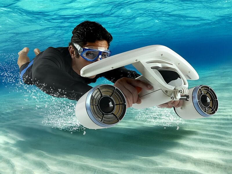 The Portable Underwater Scooter