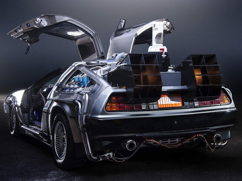 Rent the DeLorean