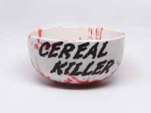 Cereal Killer Cereal Bowl