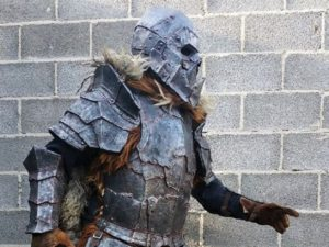 Orc armor costume set