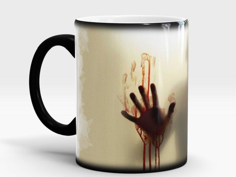 Walking Dead Color Changing coffee mug